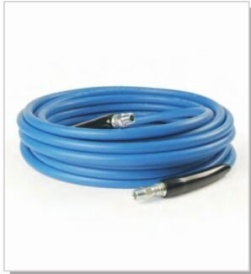 Single Wire Blue Smooth Hose
